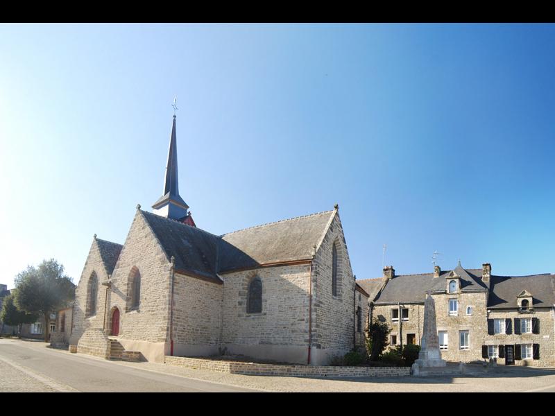 Eglise Notre-Dame du Lys à Lizio - Morbihan - Bretagne - © Mairie de Lizio