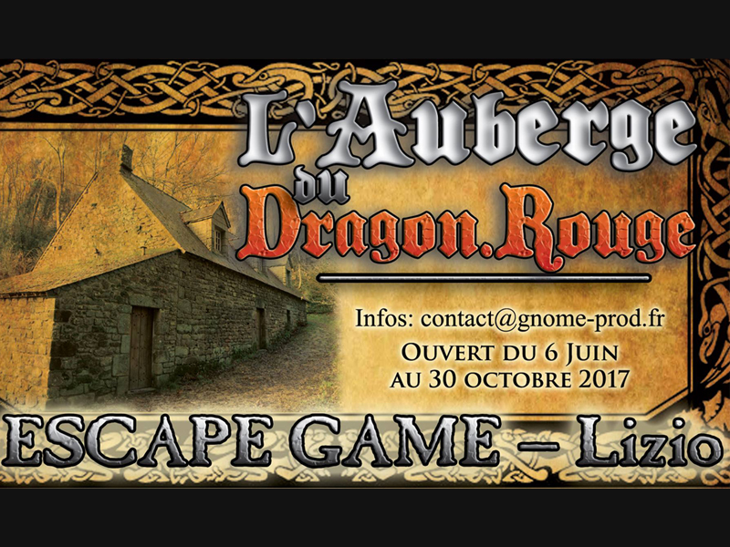 Escape game : L'auberge du Dragon rouge  - Lizio