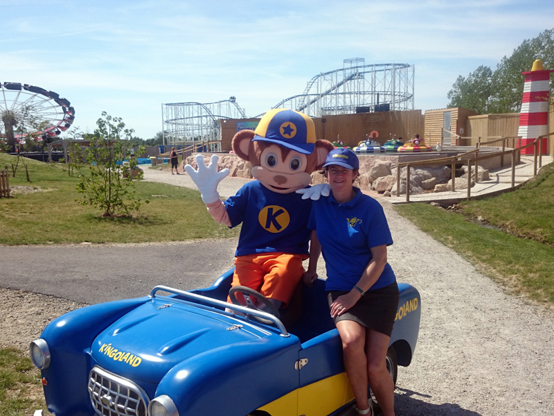 Kingoland, Parc d'attractions - Plumelin