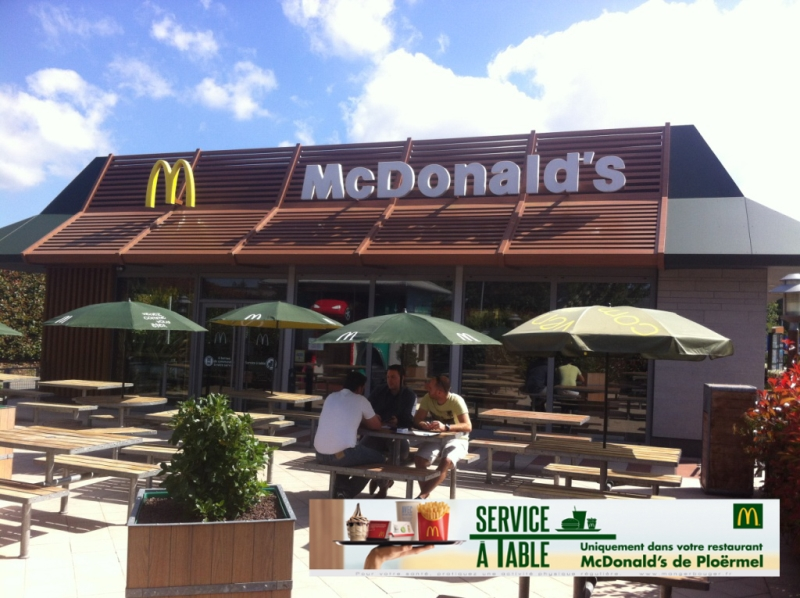 Restaurant Mc Donald's - Ploërmel